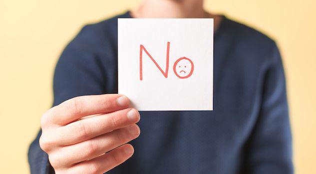 Колко пъти трябва да чуете НЕ, преди да се откажете?