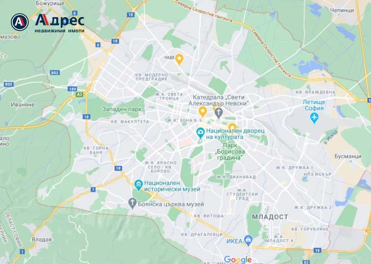 Жилищата в София по-евтини с 1.8% през 2012 г.
