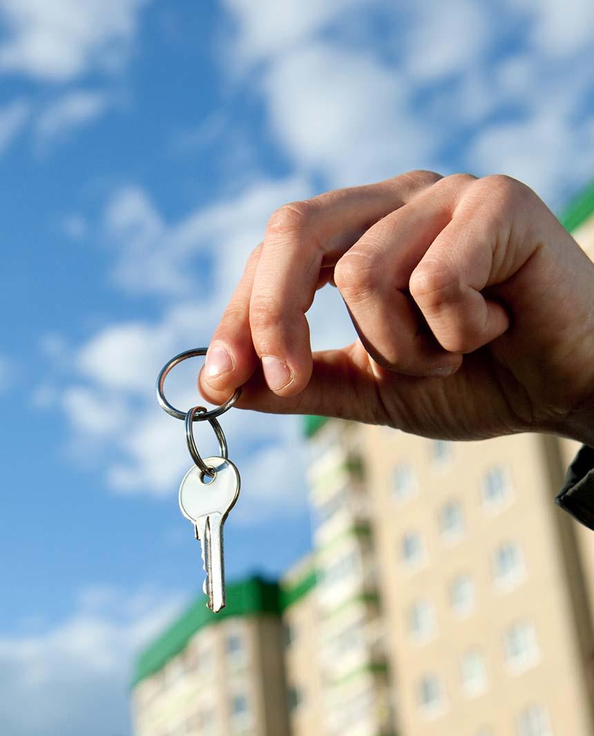 55% от имотите  са купени с ипотечен кредит