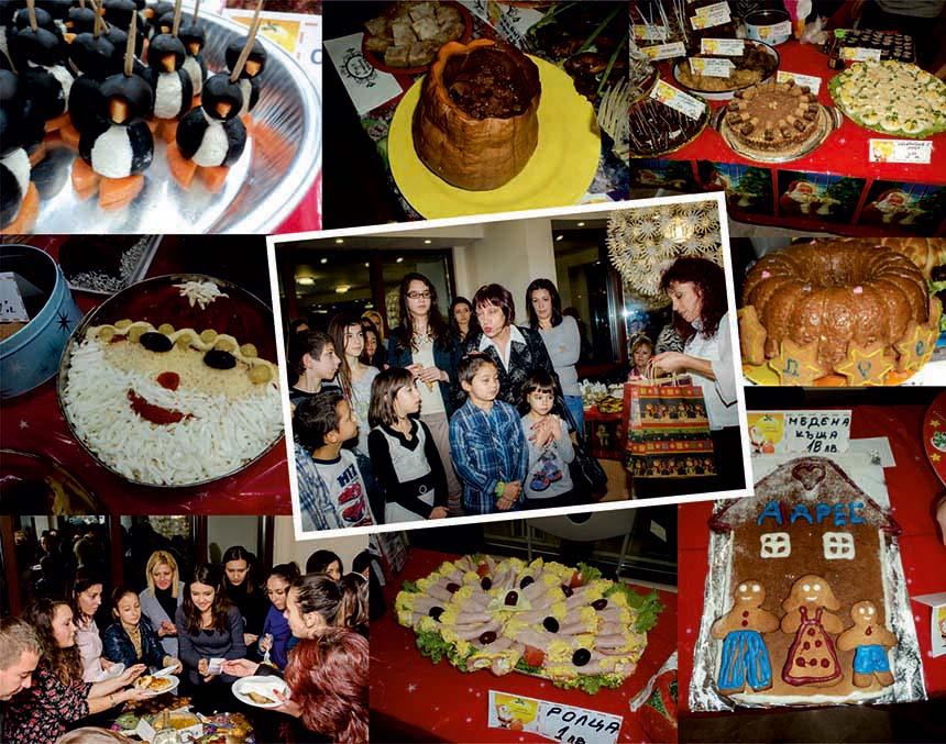 Коледен благотворителен кулинарен базар – гр. Варна