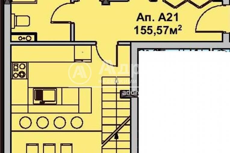Многостаен апартамент, Бургас, Славейков, 491022, Снимка 1