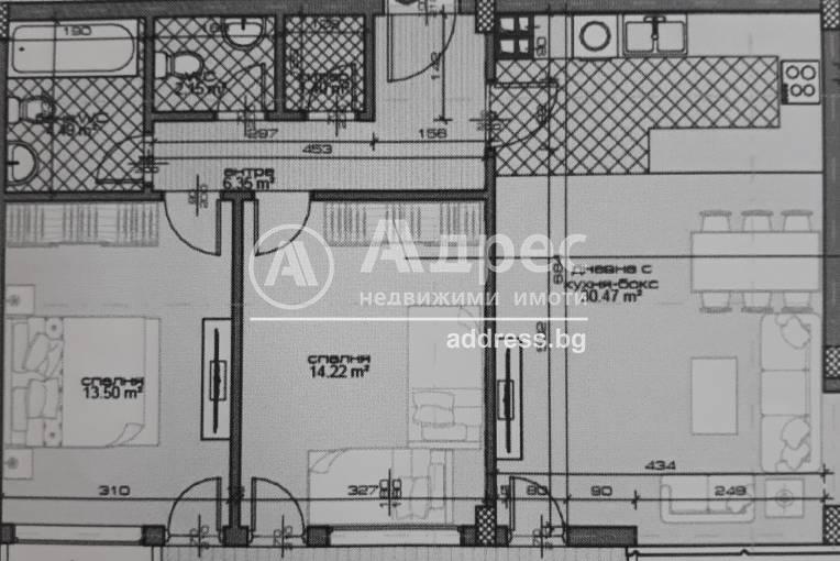 Тристаен апартамент, Варна, Бриз, 457031, Снимка 2