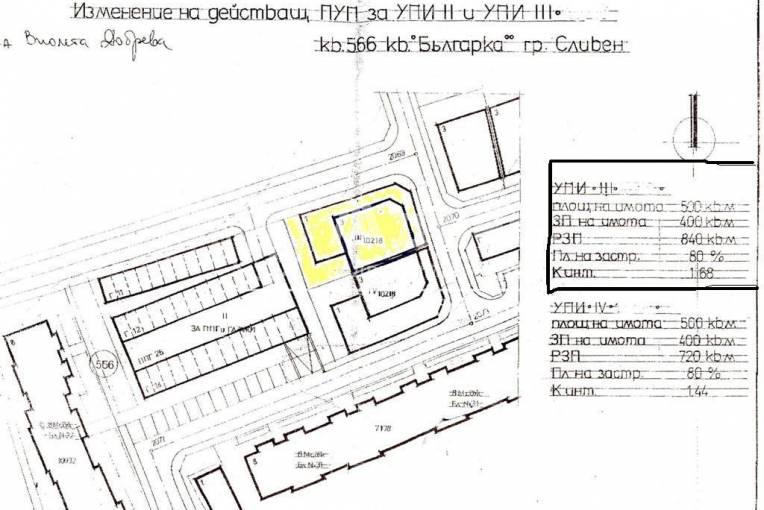 Парцел/Терен, Сливен, Българка, 33044, Снимка 1