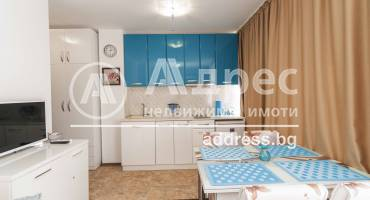 Едностаен апартамент, Поморие, Център, 521062, Снимка 1