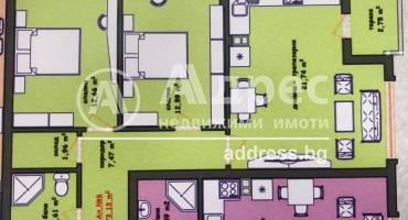 Тристаен апартамент, Хасково, Училищни, 465071, Снимка 1
