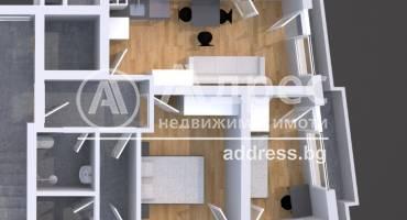 Тристаен апартамент, Благоевград, Център, 520100, Снимка 1