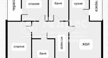 Тристаен апартамент, София, Драгалевци, 525105, Снимка 3
