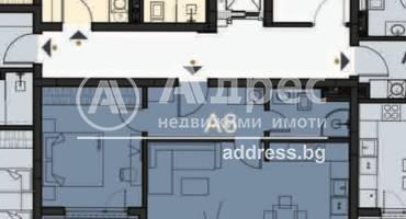 Двустаен апартамент, София, Гоце Делчев, 480186, Снимка 1