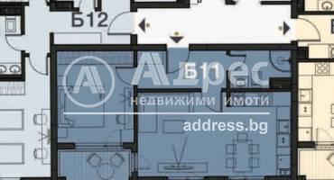 Двустаен апартамент, София, Гоце Делчев, 480197, Снимка 1