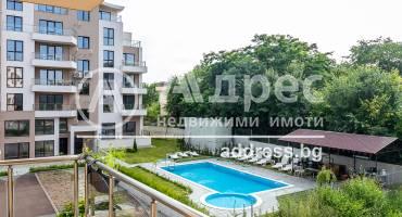 Тристаен апартамент, Варна, к.к. Чайка, 519238, Снимка 1