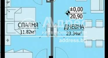 Двустаен апартамент, Бургас, Сарафово, 467244, Снимка 1