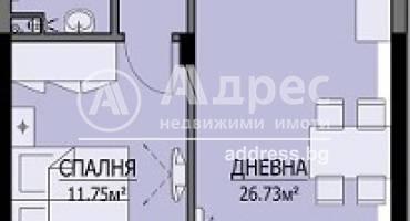 Двустаен апартамент, Бургас, Сарафово, 467251, Снимка 1