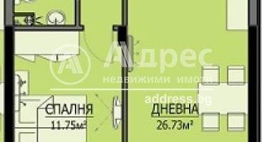 Двустаен апартамент, Бургас, Сарафово, 467260, Снимка 1