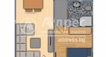 Двустаен апартамент, Русе, Възраждане, 478298, Снимка 1