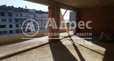 Тристаен апартамент, Варна, Чайка, 520299, Снимка 1