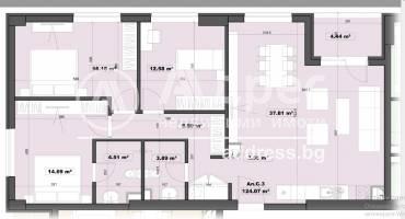 Многостаен апартамент, София, Дианабад, 458323, Снимка 2