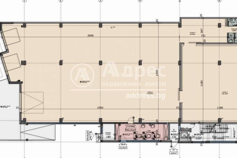 Офис Сграда/Търговски център, Стара Загора, Индустриален - запад, 202348, Снимка 2