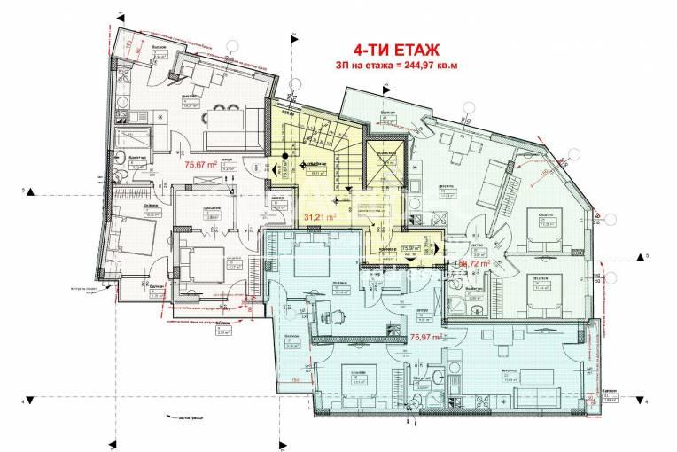 Тристаен апартамент, Варна, Трошево, 463351, Снимка 2