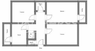 Тристаен апартамент, София, Борово, 517351, Снимка 4