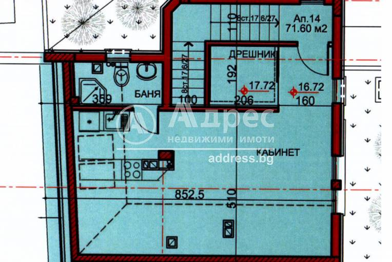 Двустаен апартамент, София, Манастирски ливади - запад, 454438, Снимка 2