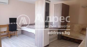 Едностаен апартамент, Бургас, 477447, Снимка 1