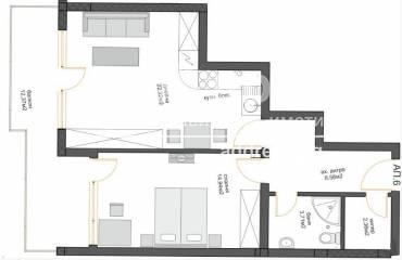 Двустаен апартамент, Варна, к.к. Чайка, 460514, Снимка 1