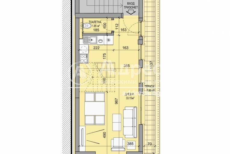 Тристаен апартамент, София, Център, 505565, Снимка 12