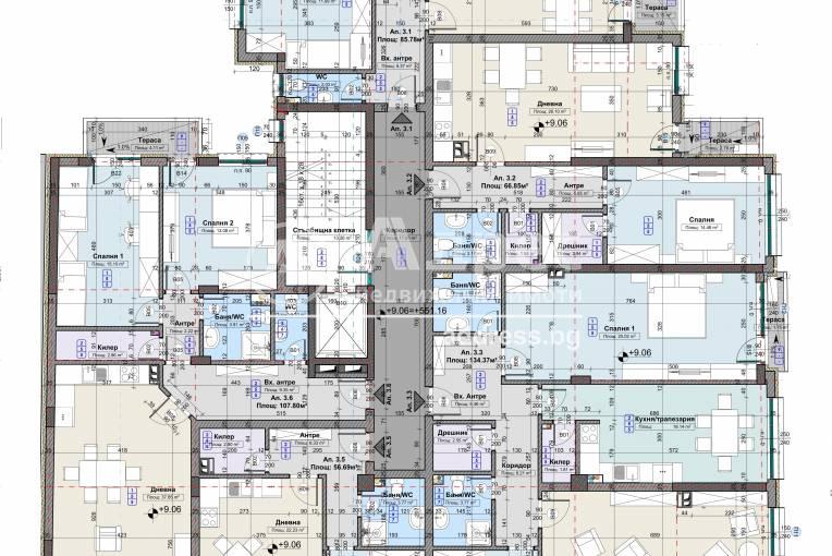 Тристаен апартамент, София, Център, 415575, Снимка 3