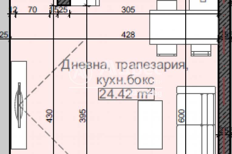 Едностаен апартамент, София, Младост 4, 459606, Снимка 3