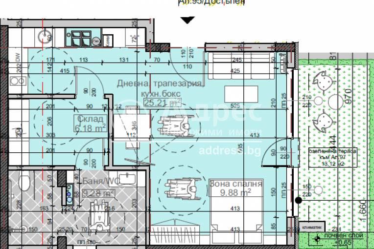 Едностаен апартамент, София, Младост 4, 459608, Снимка 3