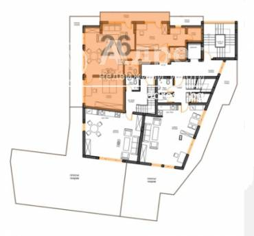 Тристаен апартамент, Варна, к.к. Чайка, 460654, Снимка 1