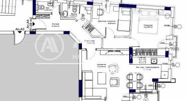 Тристаен апартамент, Ямбол, 514659, Снимка 2