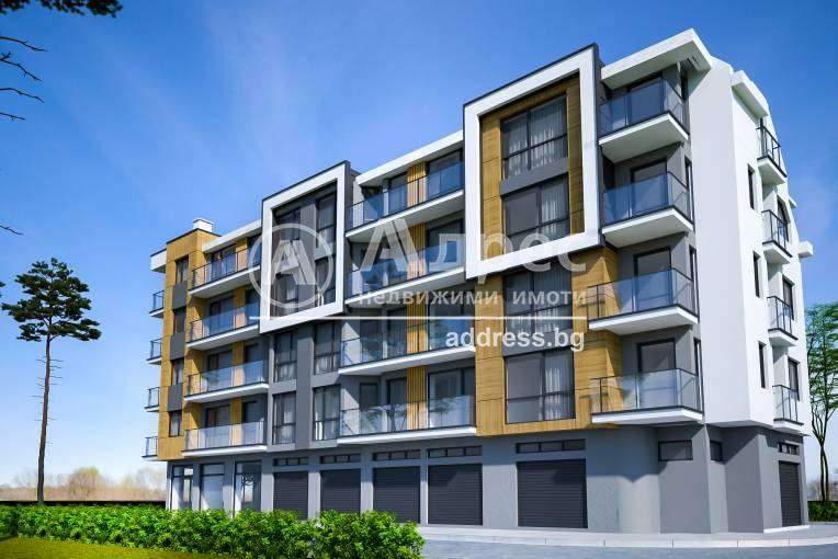 Тристаен апартамент, Ямбол, 514659, Снимка 1