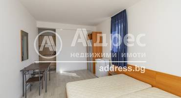 Едностаен апартамент, Поморие, местност Кротиря, 475660, Снимка 1