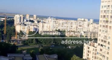 Тристаен апартамент, Бургас, Славейков, 520684