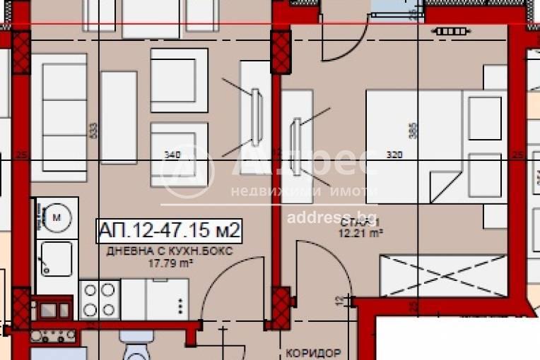 Двустаен апартамент, София, Овча купел, 515724, Снимка 2