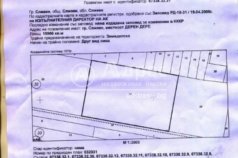 Парцел/Терен, Сливен, Речица, 209772, Снимка 1