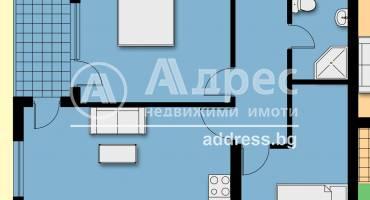 Тристаен апартамент, Благоевград, Еленово, 500773, Снимка 1