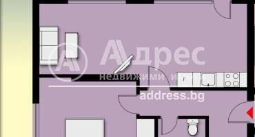 Двустаен апартамент, Благоевград, Еленово, 500801, Снимка 1