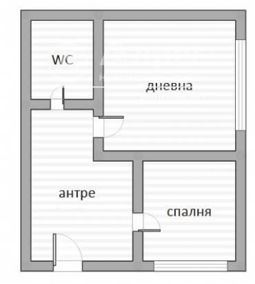 Едностаен апартамент, Стара Загора, Аязмото, 459821, Снимка 4