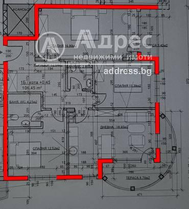 Многостаен апартамент, Велико Търново, Център, 440904, Снимка 1