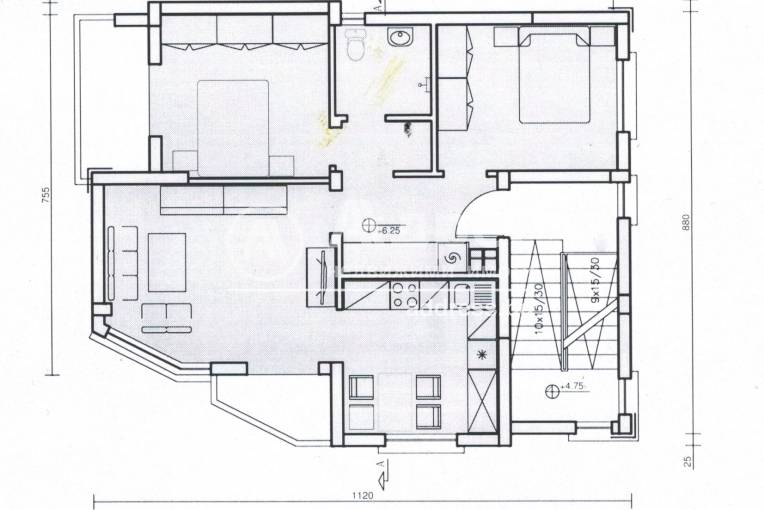 Тристаен апартамент, Хасково, Училищни, 465920, Снимка 3