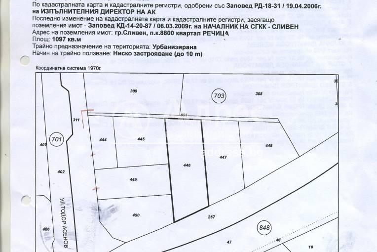 Парцел/Терен, Сливен, Речица, 177925, Снимка 1