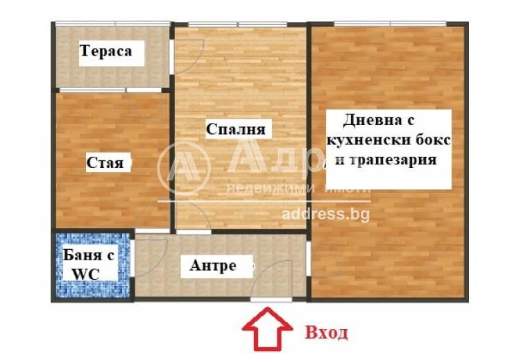Тристаен апартамент, София, Бъкстон, 524973, Снимка 4
